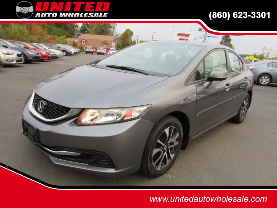 Used 2013 Honda Civic Sdn in East Windsor, Connecticut | United Auto Sales of E Windsor, Inc. East Windsor, Connecticut