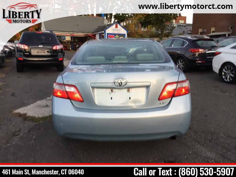 Used Toyota Camry 4doors LE 2008 | Liberty Motors. Manchester, Connecticut