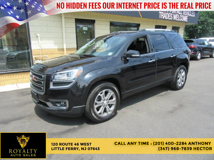 Used GMC Acadia AWD 4dr SLT w/SLT-1 2015   Royalty Auto Sales. Little Ferry, New Jersey
