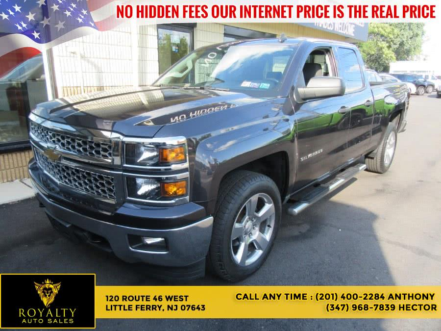 "Used Chevrolet Silverado 1500 4WD Double Cab 143.5"" LT w/1LT 2014 