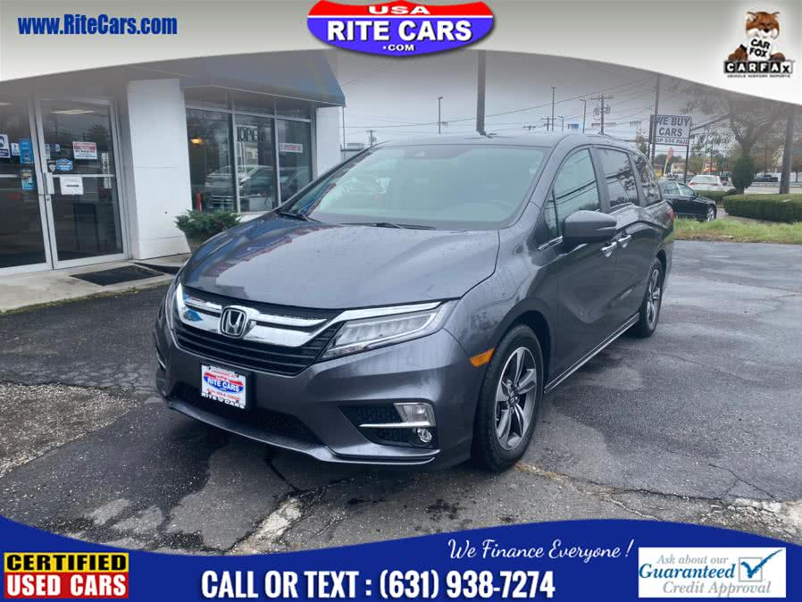 2018 Honda Odyssey Touring Auto, available for sale in Lindenhurst, NY