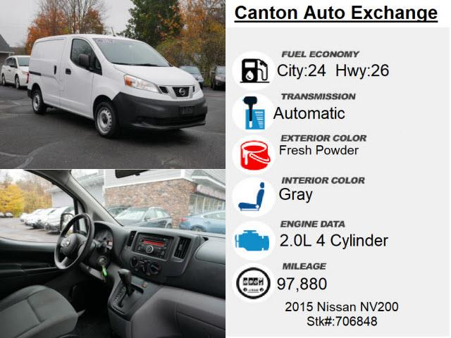 Used Nissan Nv200 S 2015 | Canton Auto Exchange. Canton, Connecticut