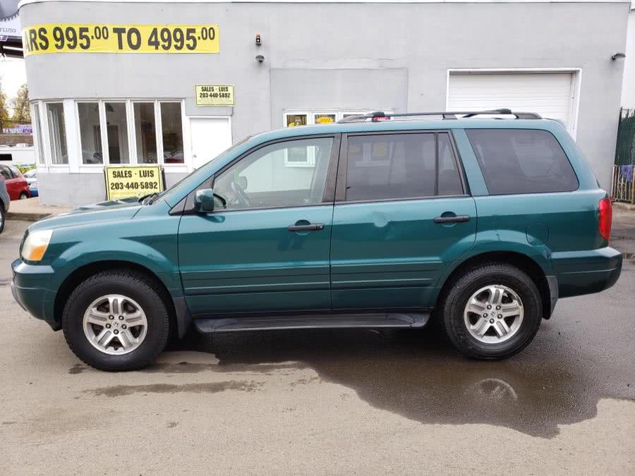 Used Honda Pilot 4WD EX Auto w/Leather/DVD 2003 | Cos Central Auto. Meriden, Connecticut