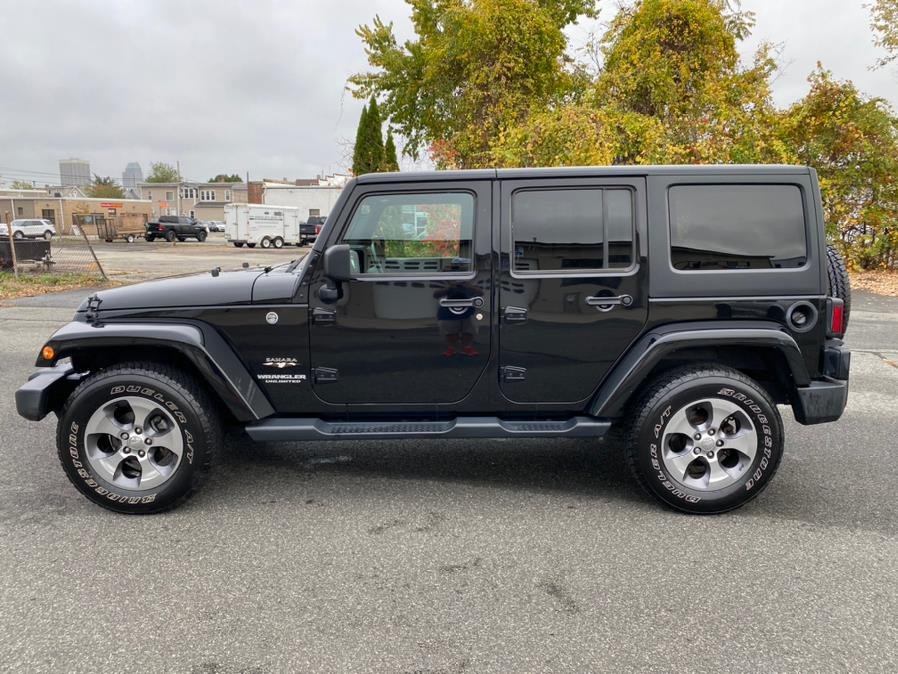 Used Jeep Wrangler Unlimited 4WD 4dr Sahara 2016 | Union Street Auto Sales. West Springfield, Massachusetts