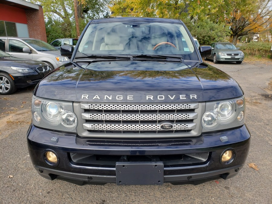 Used Land Rover Range Rover Sport 4WD SUPERCHARGED Navi Loaded DVD 2008 | Toro Auto. East Windsor, Connecticut