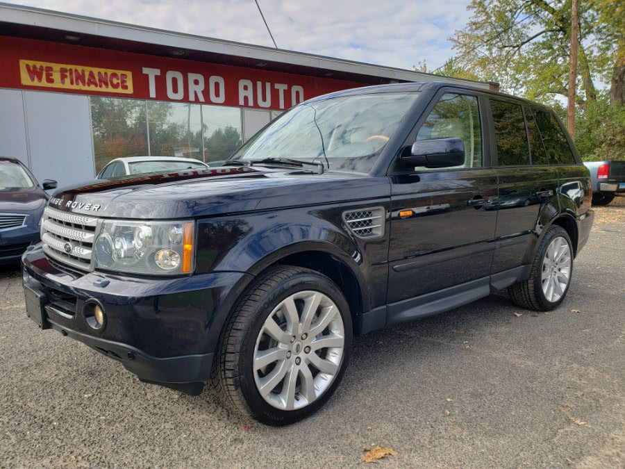 2008 Land Rover Range Rover Sport 4WD SUPERCHARGED Navi Loaded DVD, available for sale in East Windsor, CT