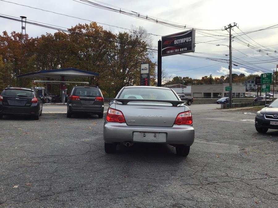 Used Subaru Impreza Sedan (Natl) 2.5 RS Manual w/Sport Pkg 2005 | Olympus Auto Inc. Leominster, Massachusetts
