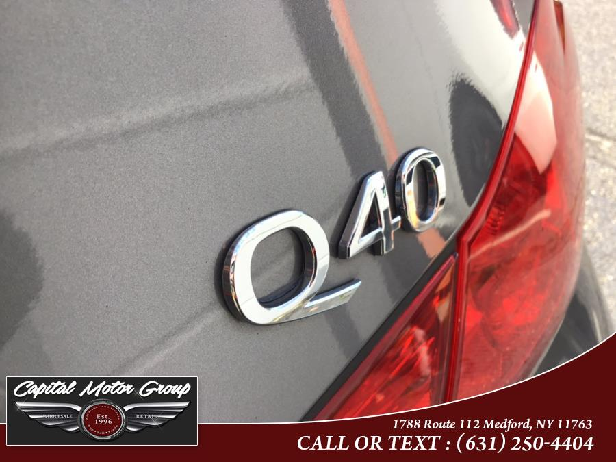 Used Infiniti Q40 4dr Sdn AWD 2015 | Capital Motor Group Inc. Medford, New York