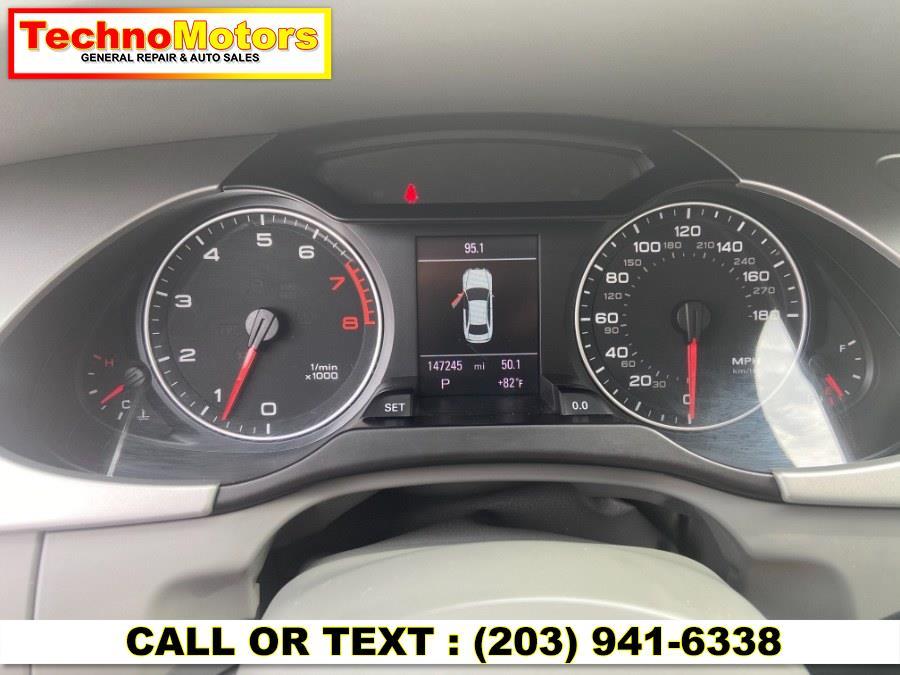 Used Audi A4 4dr Sdn Auto quattro 2.0T Premium Plus 2012   Techno Motors . Danbury , Connecticut