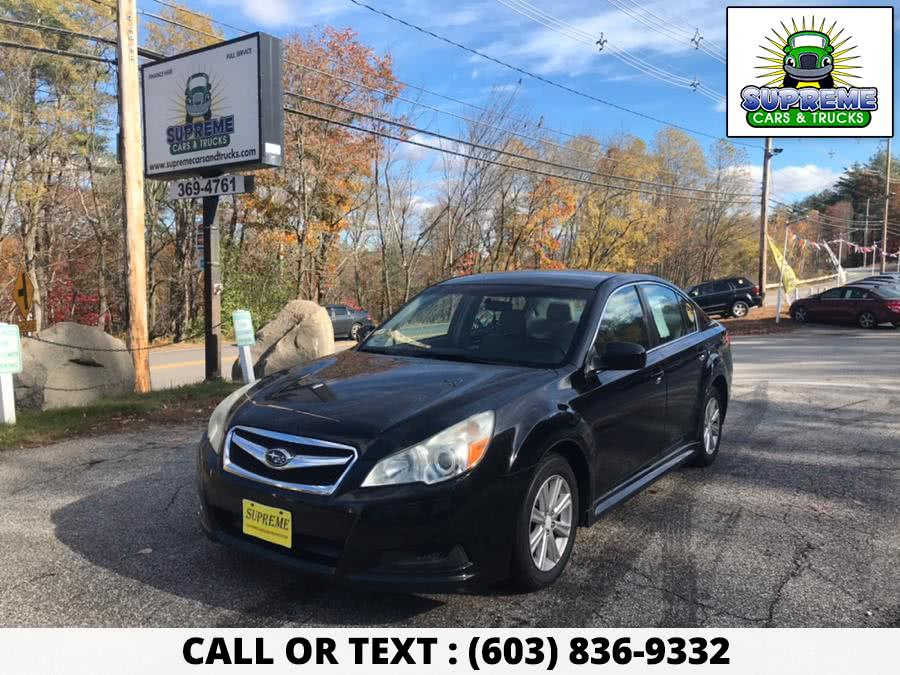 Used 2010 SUBARU LEGACY in Bow , New Hampshire | Supreme Cars and Trucks . Bow , New Hampshire