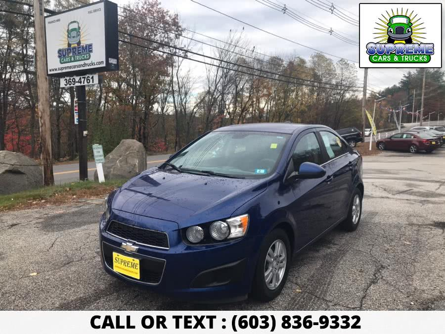 Used 2012 CHEVROLET SONIC in Bow , New Hampshire | Supreme Cars and Trucks . Bow , New Hampshire
