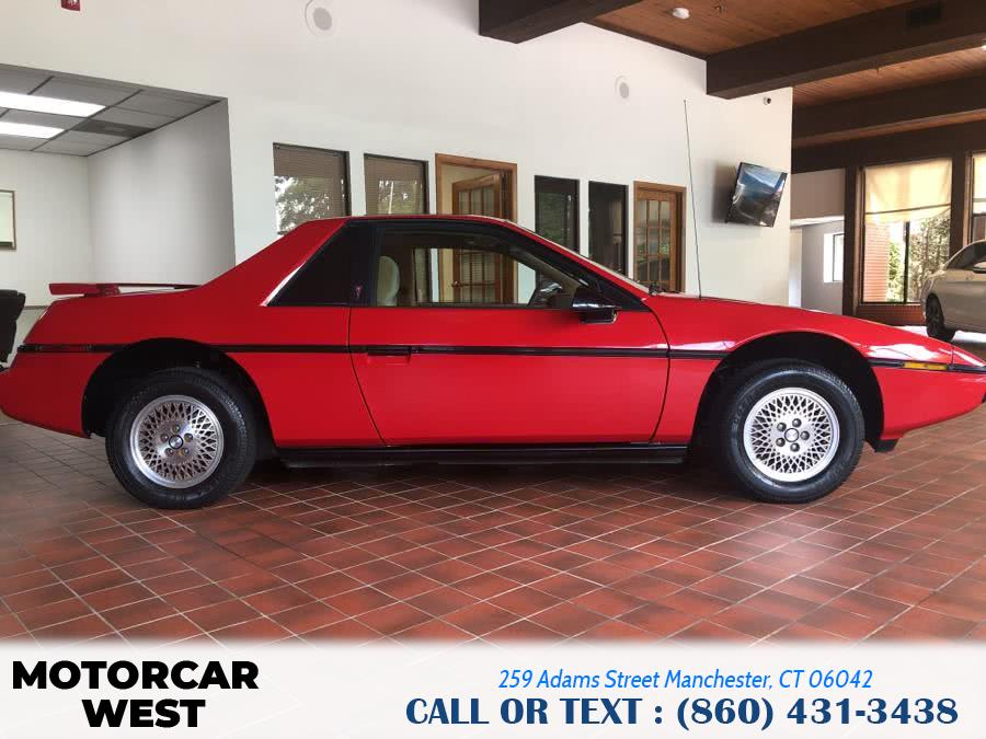 Used Pontiac Fiero 2dr Coupe Sport 4-Spd 1984 | Motorcar West. Manchester, Connecticut