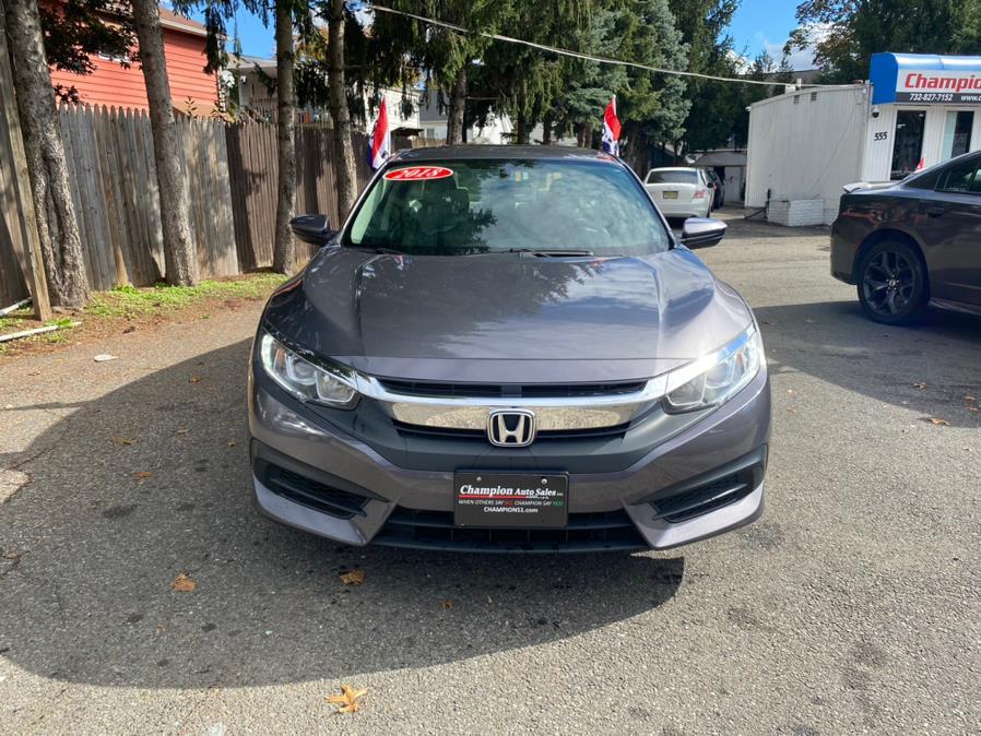 Used Honda Civic Sedan LX CVT 2018 | Champion Auto Sales. Rahway, New Jersey
