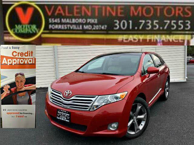 Used Toyota Venza Limited 2012 | Valentine Motor Company. Forestville, Maryland