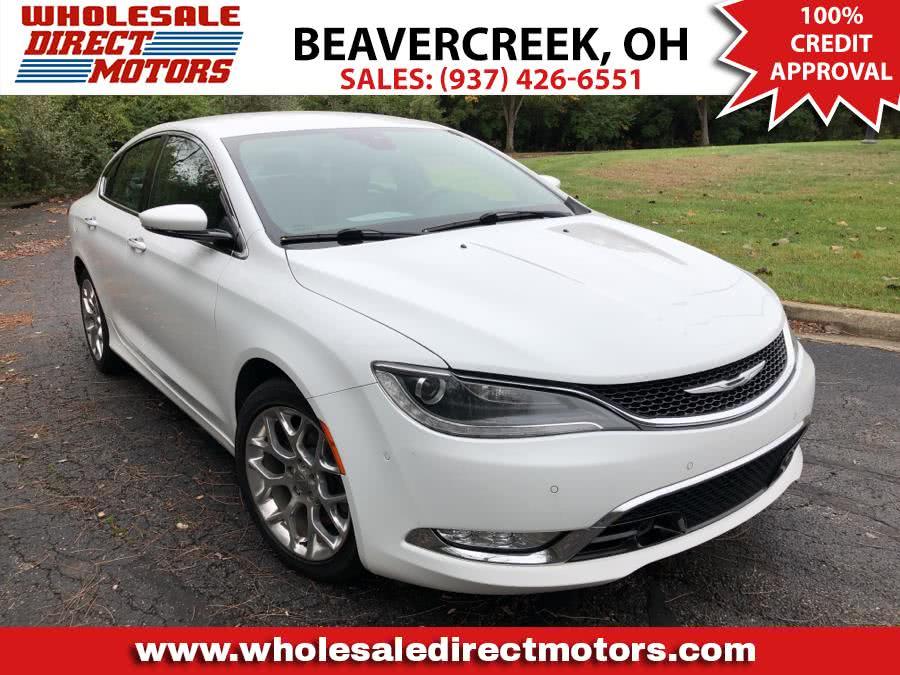 Used Chrysler 200 4dr Sdn C AWD 2015 | Wholesale Direct Motors. Beavercreek, Ohio