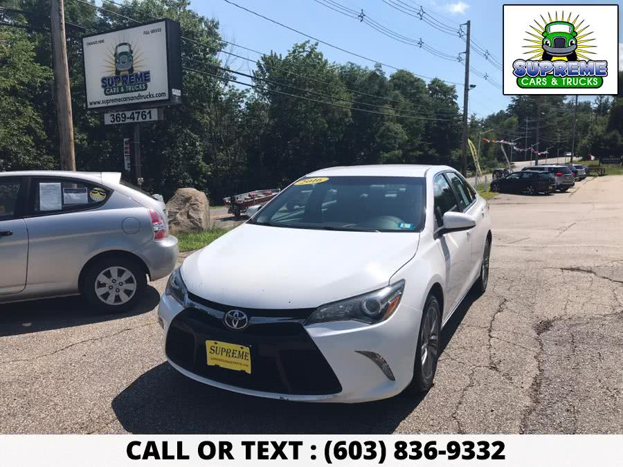 Used 2016 TOYOTA CAMRY in Bow , New Hampshire | Supreme Cars and Trucks . Bow , New Hampshire