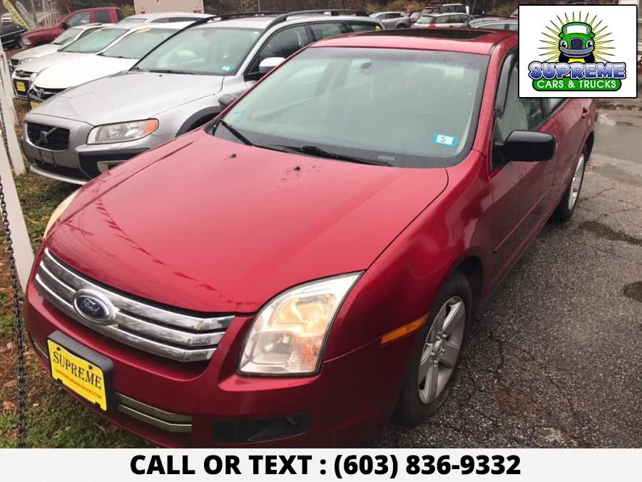 Used 2008 FORD FUSION in Bow , New Hampshire | Supreme Cars and Trucks . Bow , New Hampshire