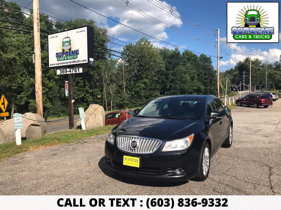 Used 2011 BUICK LACROSSE in Bow , New Hampshire | Supreme Cars and Trucks . Bow , New Hampshire