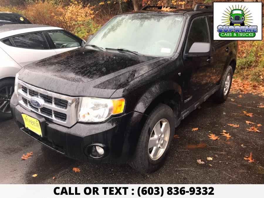 Used 2008 FORD ESCAPE in Bow , New Hampshire | Supreme Cars and Trucks . Bow , New Hampshire