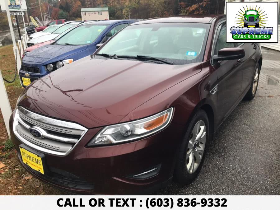 Used 2012 FORD TAURUS in Bow , New Hampshire | Supreme Cars and Trucks . Bow , New Hampshire