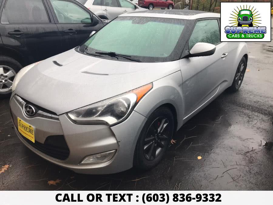 Used 2012 HYUNDAI VELOSTER in Bow , New Hampshire | Supreme Cars and Trucks . Bow , New Hampshire