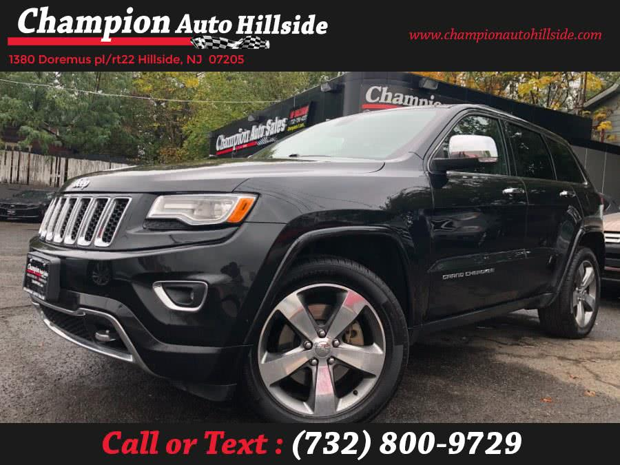 Used 2015 Jeep Grand Cherokee in Hillside, New Jersey | Champion Auto Sales. Hillside, New Jersey
