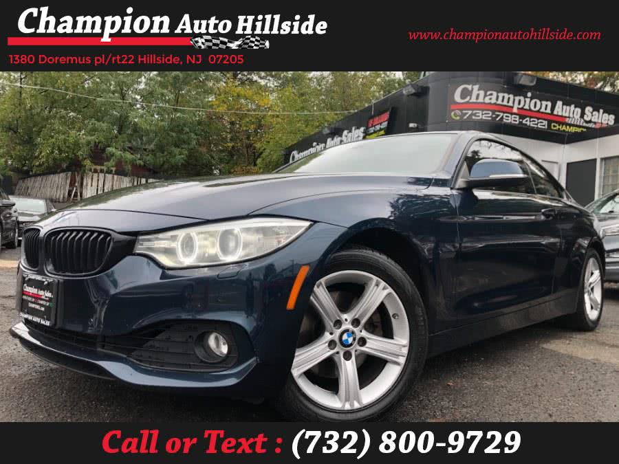 Used 2014 BMW 4 Series in Hillside, New Jersey | Champion Auto Hillside. Hillside, New Jersey