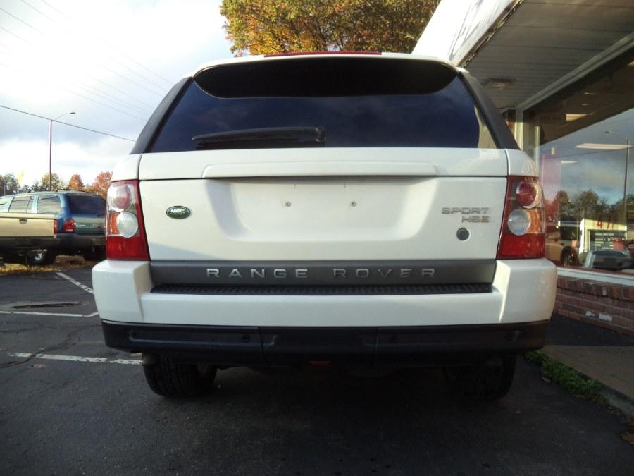 Used Land Rover Range Rover Sport 4WD 4dr HSE 2008 | Riverside Motorcars, LLC. Naugatuck, Connecticut