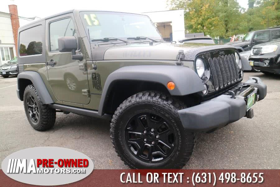 Used 2015 Jeep Wrangler in Huntington, New York | M & A Motors. Huntington, New York