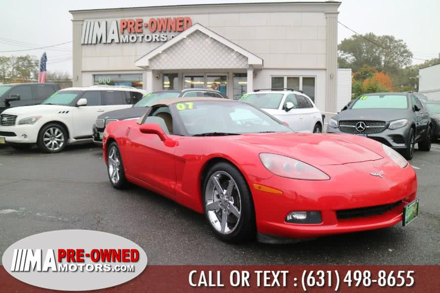 Used 2007 Chevrolet Corvette in Huntington, New York | M & A Motors. Huntington, New York