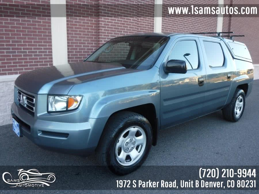 Used 2006 Honda Ridgeline in Denver, Colorado | Sam's Automotive. Denver, Colorado