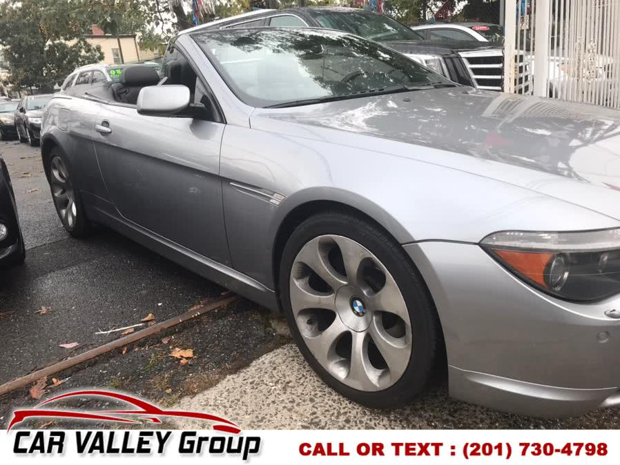 Used 2007 BMW 6 Series in Jersey City, New Jersey | Car Valley Group. Jersey City, New Jersey