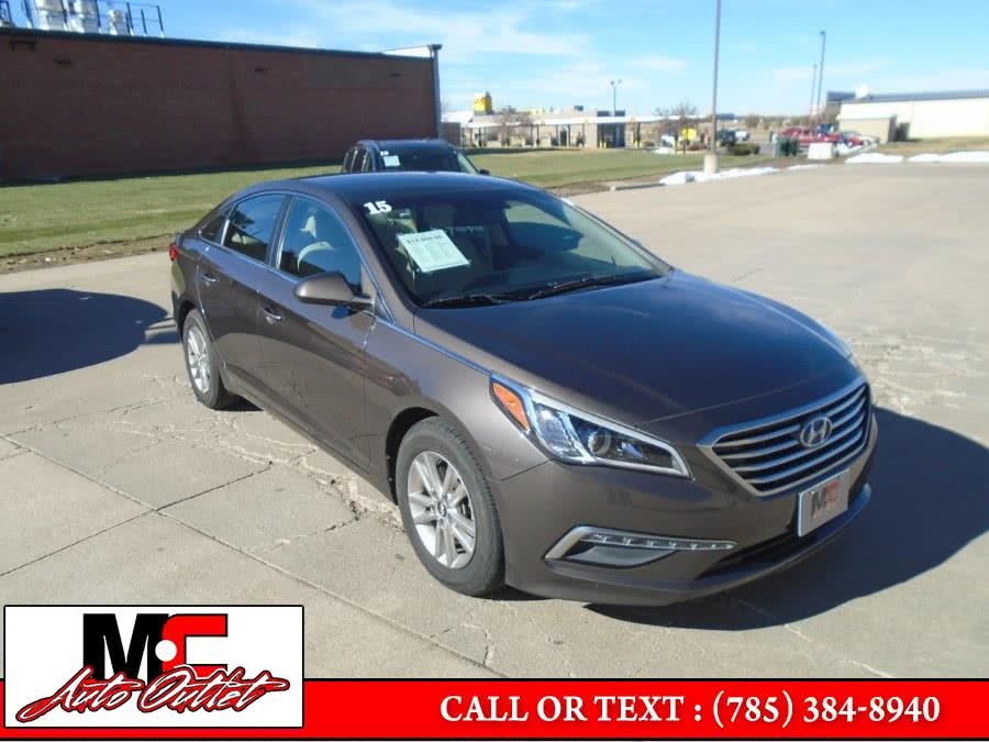 Used 2015 Hyundai Sonata in Colby, Kansas | M C Auto Outlet Inc. Colby, Kansas