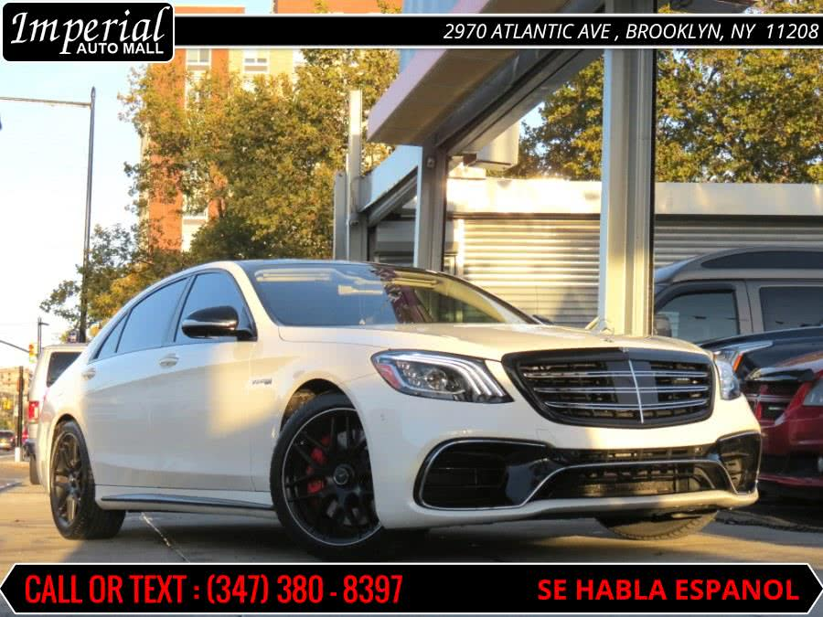 Used Mercedes-Benz S-Class AMG S 63 4MATIC+ Sedan 2019 | Imperial Auto Mall. Brooklyn, New York