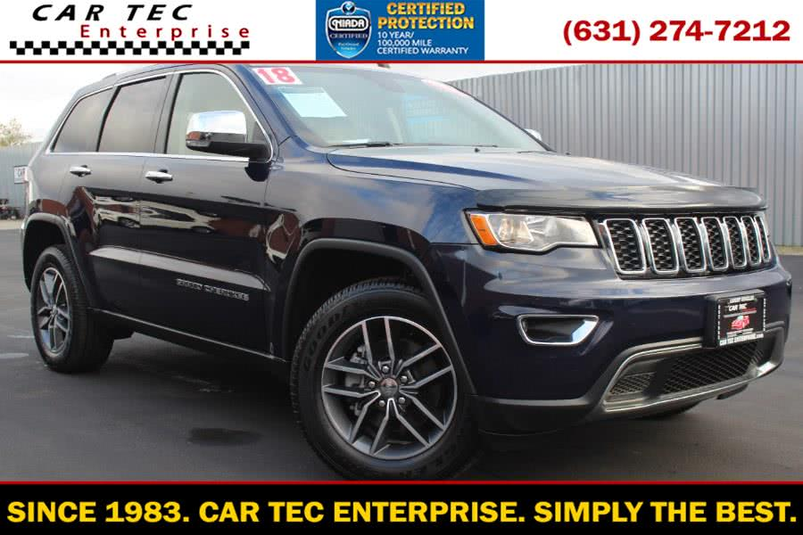 Used 2018 Jeep Grand Cherokee in Deer Park, New York | Car Tec Enterprise Leasing & Sales LLC. Deer Park, New York