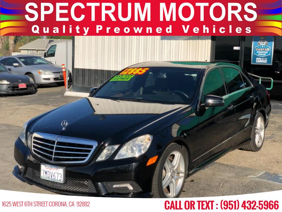 Used Mercedes-Benz E-Class 4dr Sdn E350 Luxury RWD 2011 | Spectrum Motors. Corona, California