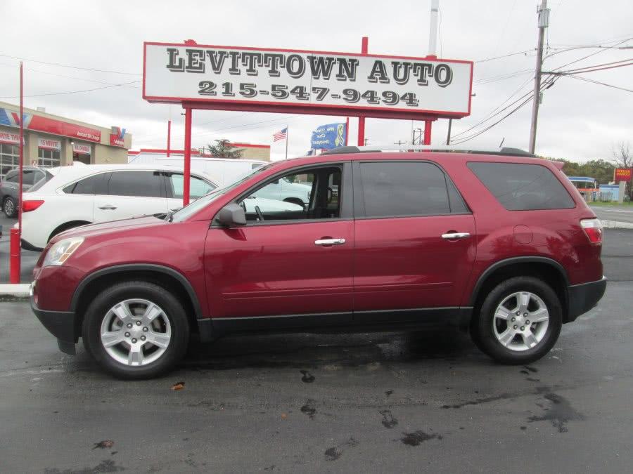 Used 2011 GMC Acadia in Levittown, Pennsylvania | Levittown Auto. Levittown, Pennsylvania