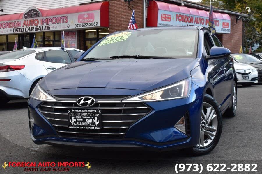 Used 2020 Hyundai Elantra in Irvington, New Jersey   Foreign Auto Imports. Irvington, New Jersey