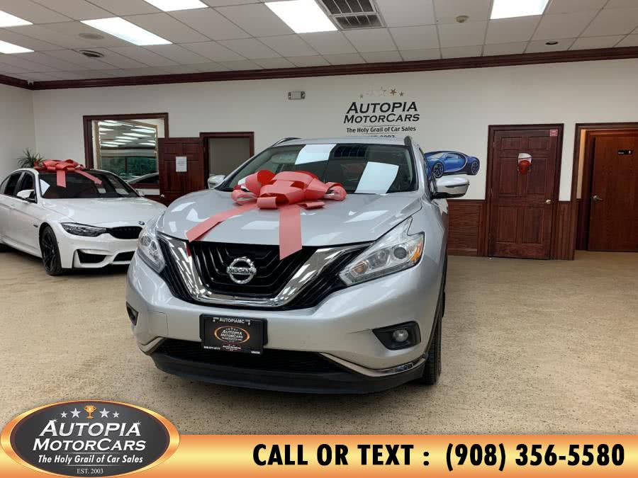 Used 2017 Nissan Murano in Union, New Jersey | Autopia Motorcars Inc. Union, New Jersey