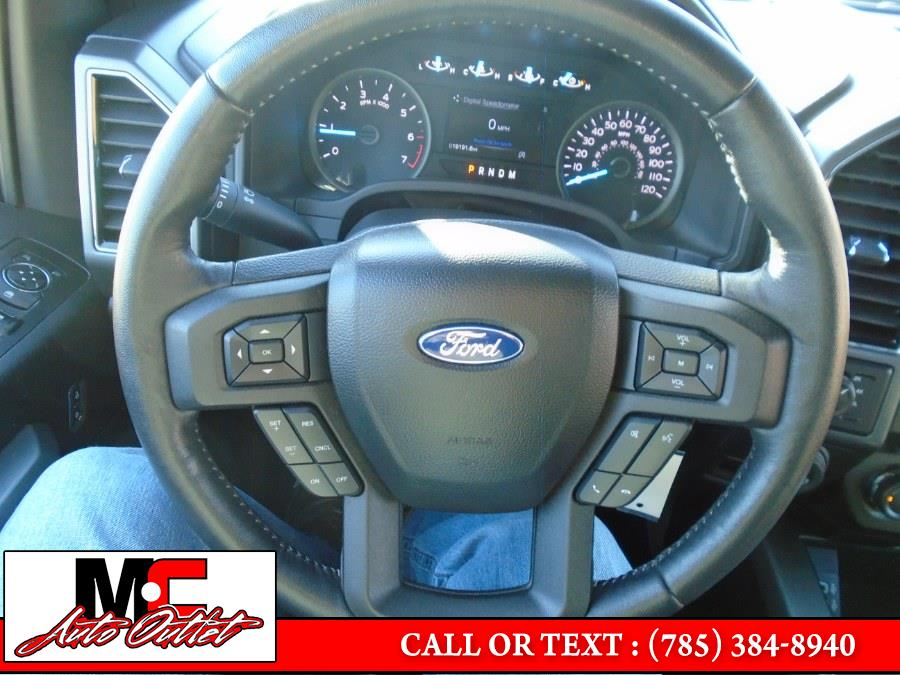 Used Ford F-150 XLT 4WD SuperCrew 5.5'' Box 2018 | M C Auto Outlet Inc. Colby, Kansas