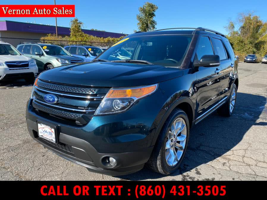 Used Ford Explorer 4WD 4dr Limited 2015 | Vernon Auto Sale & Service. Manchester, Connecticut