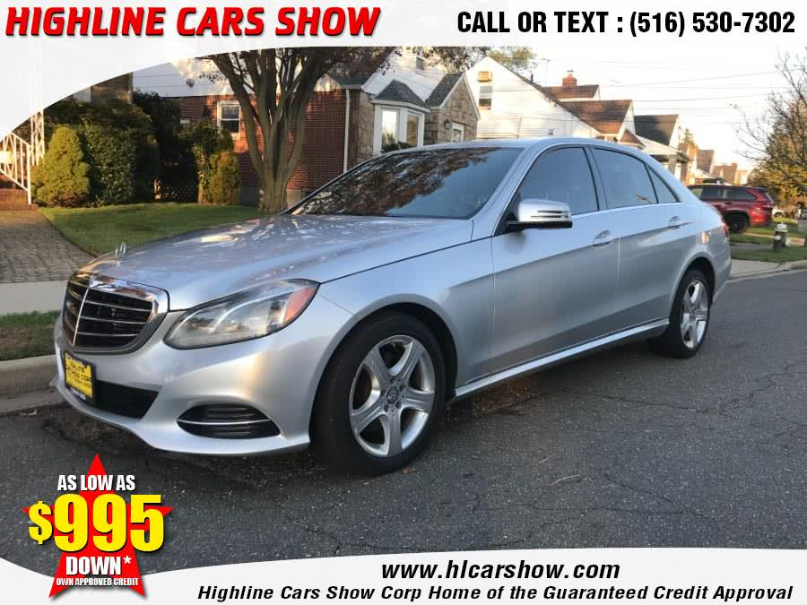 Used Mercedes-Benz E-Class 4dr Sdn E350 Luxury 4MATIC 2014 | Highline Cars Show Corp. West Hempstead, New York