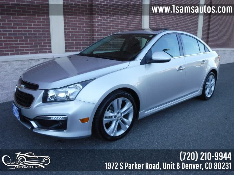 Used 2015 Chevrolet Cruze in Denver, Colorado | Sam's Automotive. Denver, Colorado