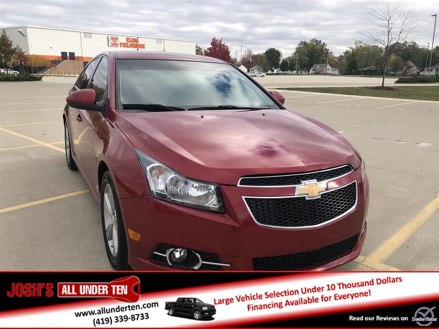Used 2014 Chevrolet Cruze in Elida, Ohio | Josh's All Under Ten LLC. Elida, Ohio