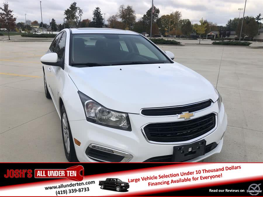 Used 2016 Chevrolet Cruze Limited in Elida, Ohio | Josh's All Under Ten LLC. Elida, Ohio