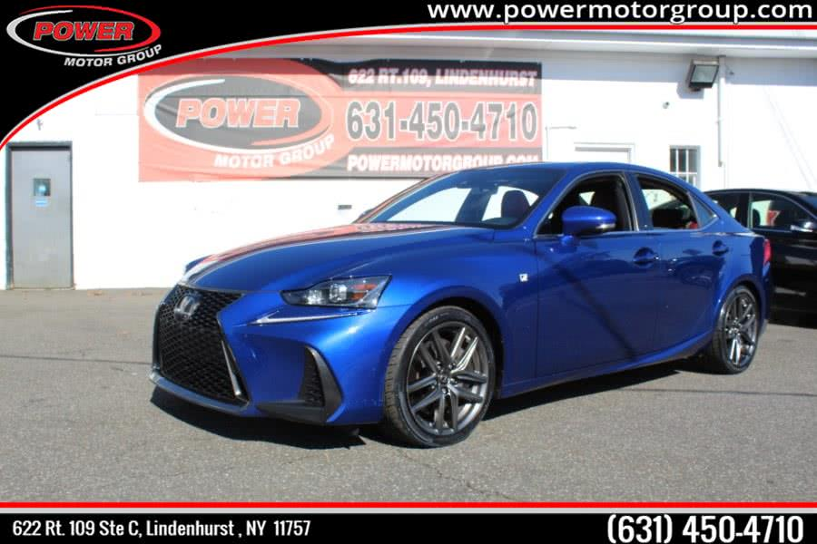 Used Lexus IS-300  F-SPORT IS 300 F Sport AWD 2017 | Power Motor Group. Lindenhurst , New York