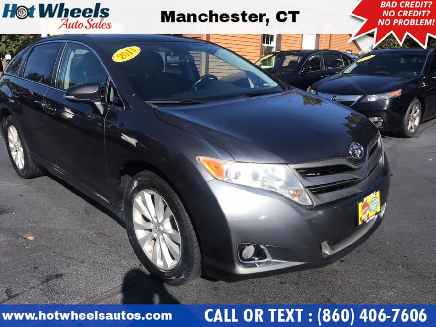 Used Toyota Venza 4dr Wgn I4 AWD XLE (Natl) 2013 | Hot Wheels Auto Sales LLC. Manchester, Connecticut