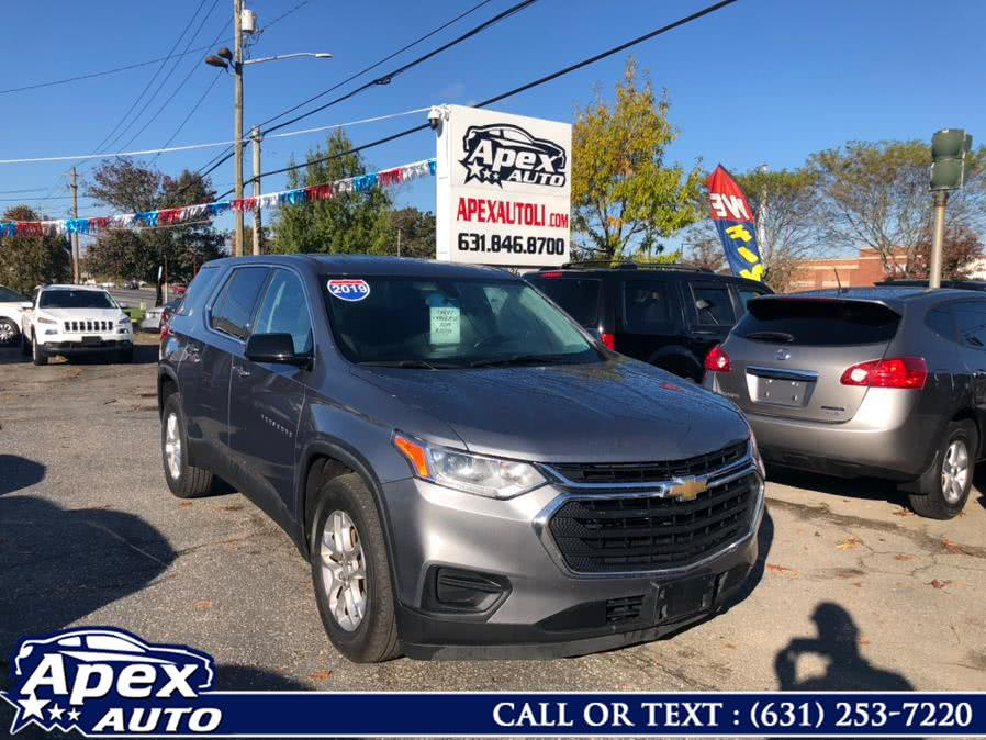 Used Chevrolet Traverse AWD 4dr LS w/1LS 2019 | Apex Auto. Selden, New York