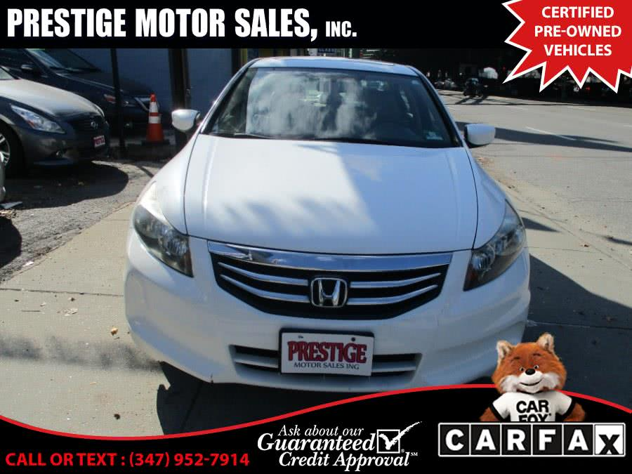 Used Honda Accord Sdn 4dr I4 Auto EX-L 2011 | Prestige Motor Sales Inc. Brooklyn, New York