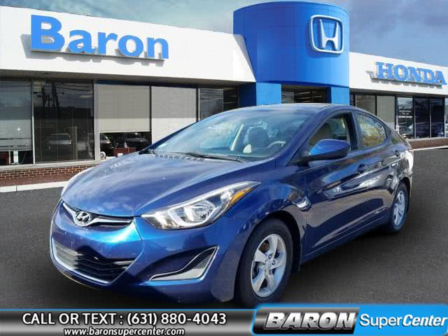 Used 2015 Hyundai Elantra in Patchogue, New York | Baron Supercenter. Patchogue, New York